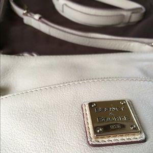 Dooney & Bourke Cream Leather Crossbody Bag